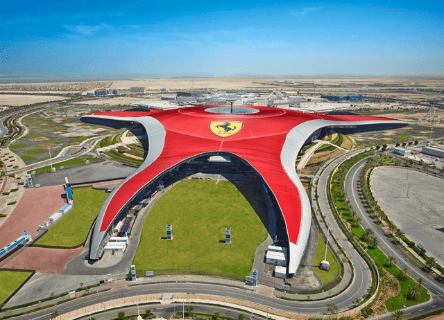 Ferrari World Tour In Dubai